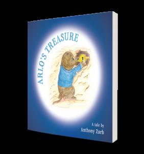 Arlo's Treasure - book cover