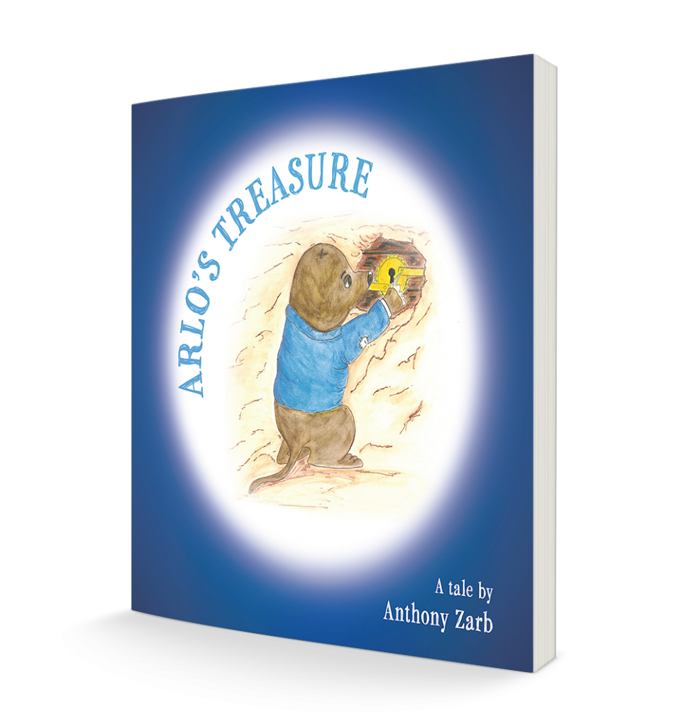 Arlo's Treasure - book cover